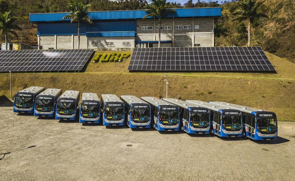 Turp Transporte renova frota com 15 ônibus zero-quilômetro em Petrópolis (RJ)